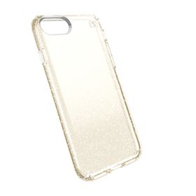 Speck Presidio case for iPhone 7 - Clear with Gold Glitter
